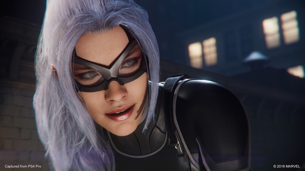 Marvel's Spider-Man: The City That Never Sleeps; screenshot: The Heist – Felicia