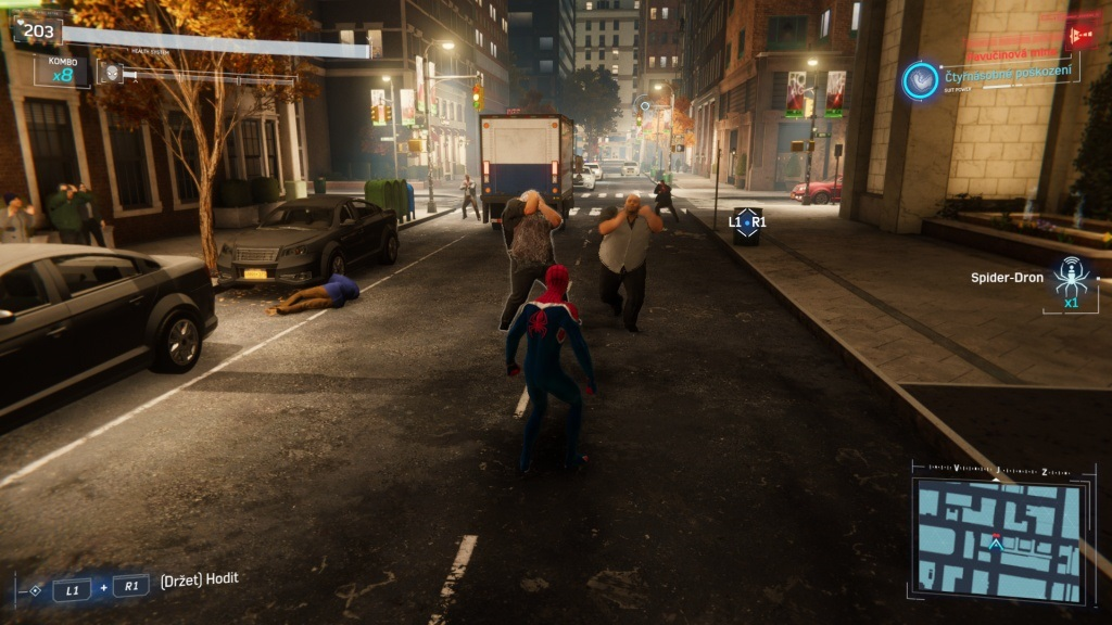 Marvel's Spider-Man: The City That Never Sleeps; gameplay: The Heist – pořízci