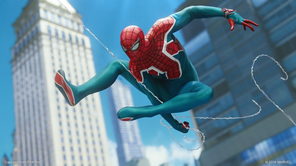 Marvel's Spider-Man: The City That Never Sleeps; screenshot: The Heist – Spider UK