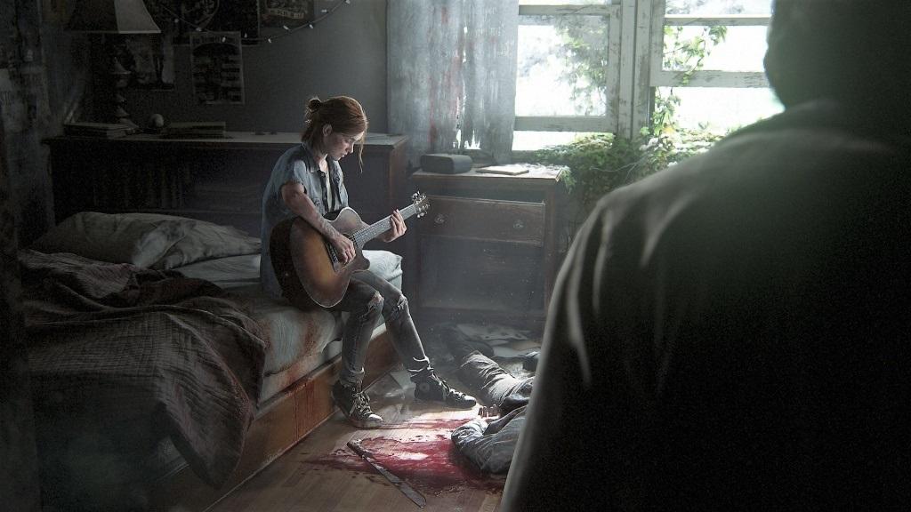 The Last of Us Part II; Wallpaper: Ellie, Mrtvoly