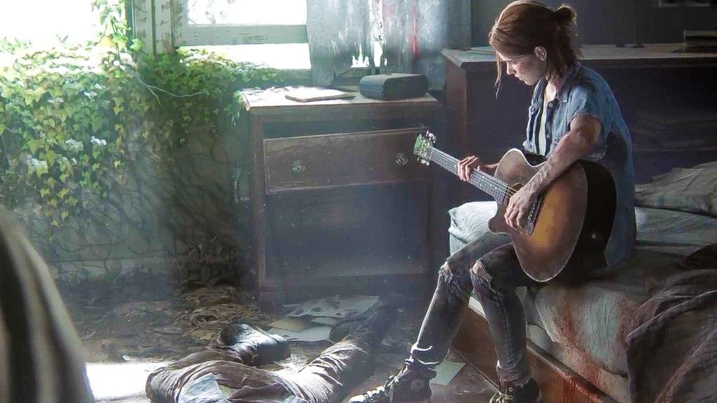 The Last of Us Part II; Wallpaper: Ellie, dům, mrtvoly