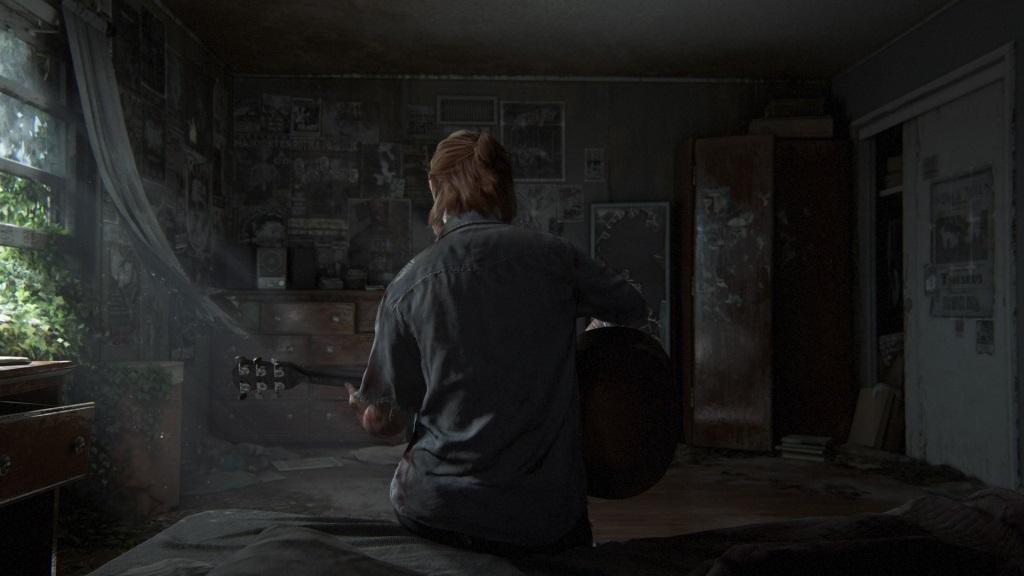 The Last of Us Part II; Wallpaper: Ellie, dům