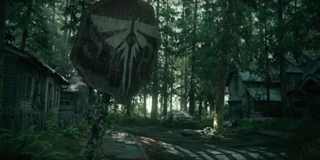 The Last of Us part II; Wallpaper: Fireflies