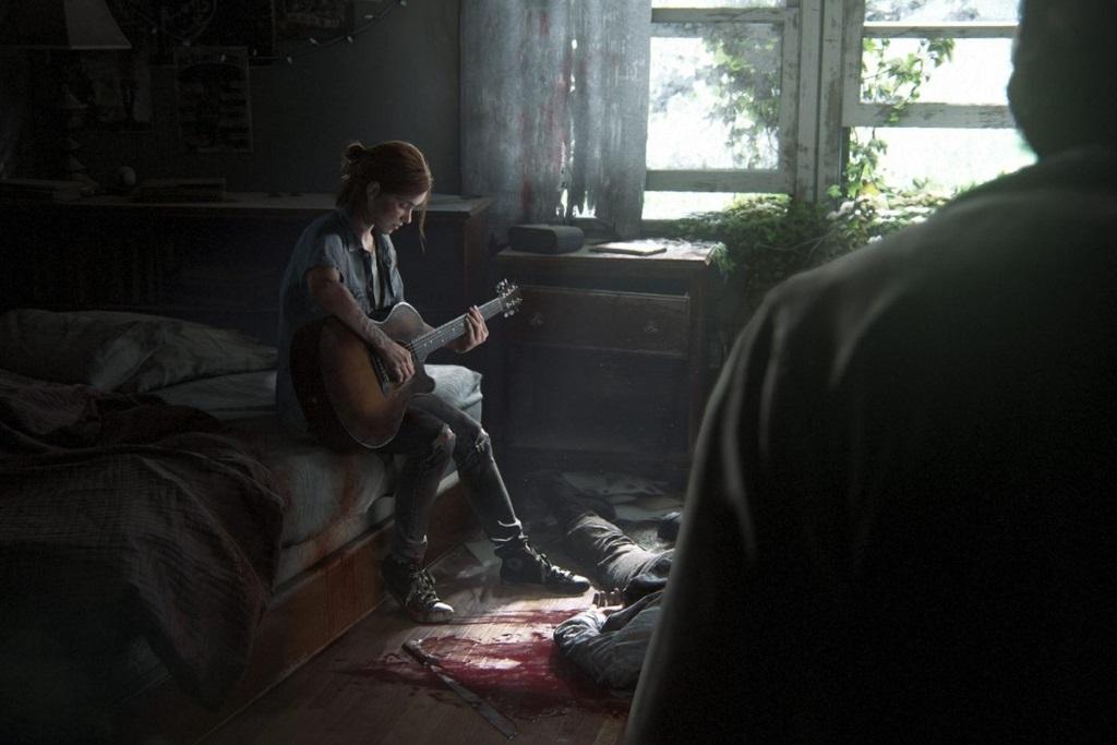 The Last of Us Part II; Wallpaper: Ellie, Joel, mrtvoly