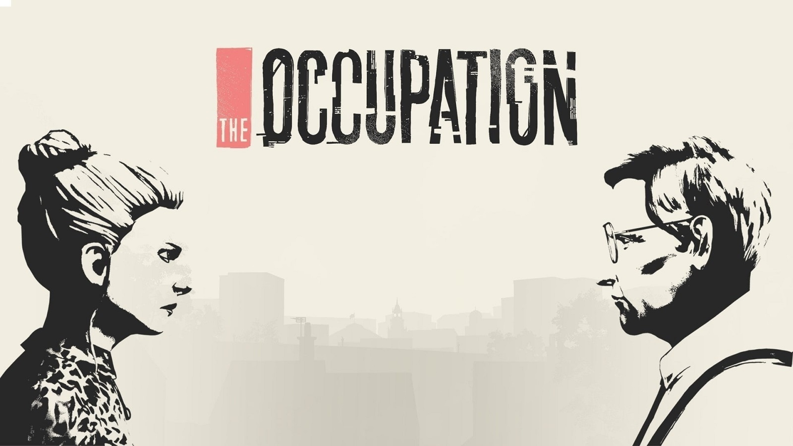 The Occupation; wallpaper: key art, cover, logo