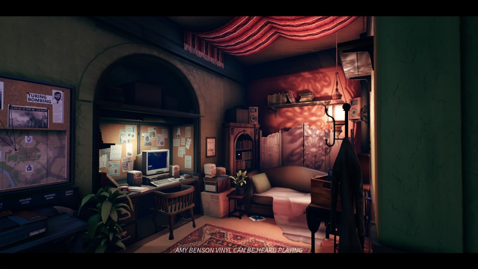 The Occupation; gameplay: místnost