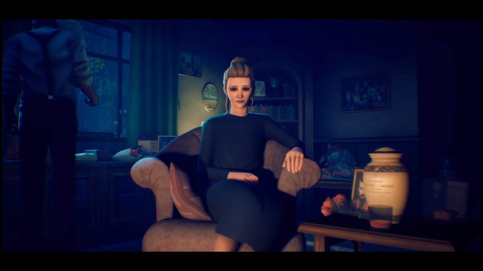 The Occupation; gameplay: Scarlet Carson