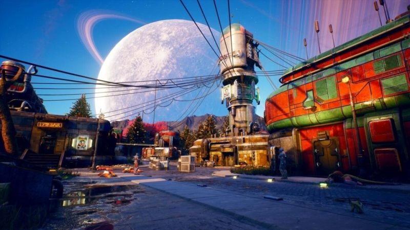 The Outer Worlds; screenshot: svět