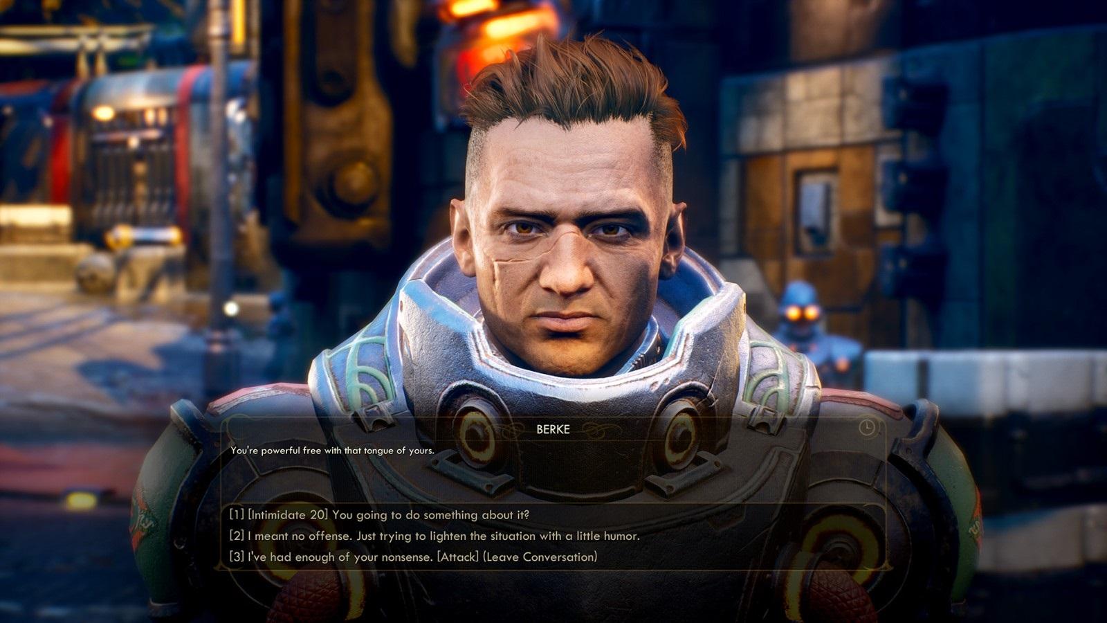 Nejočekávanější hry v roce 2019; The Outer Worlds, screenshot: rozhovor