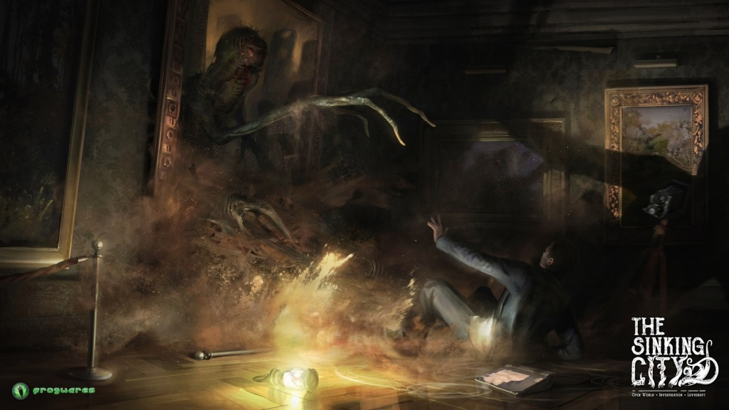 The Sinking City; screenshot: démon