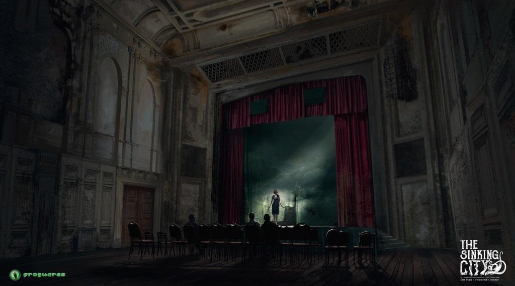 The Sinking City; screenshot: divadlo