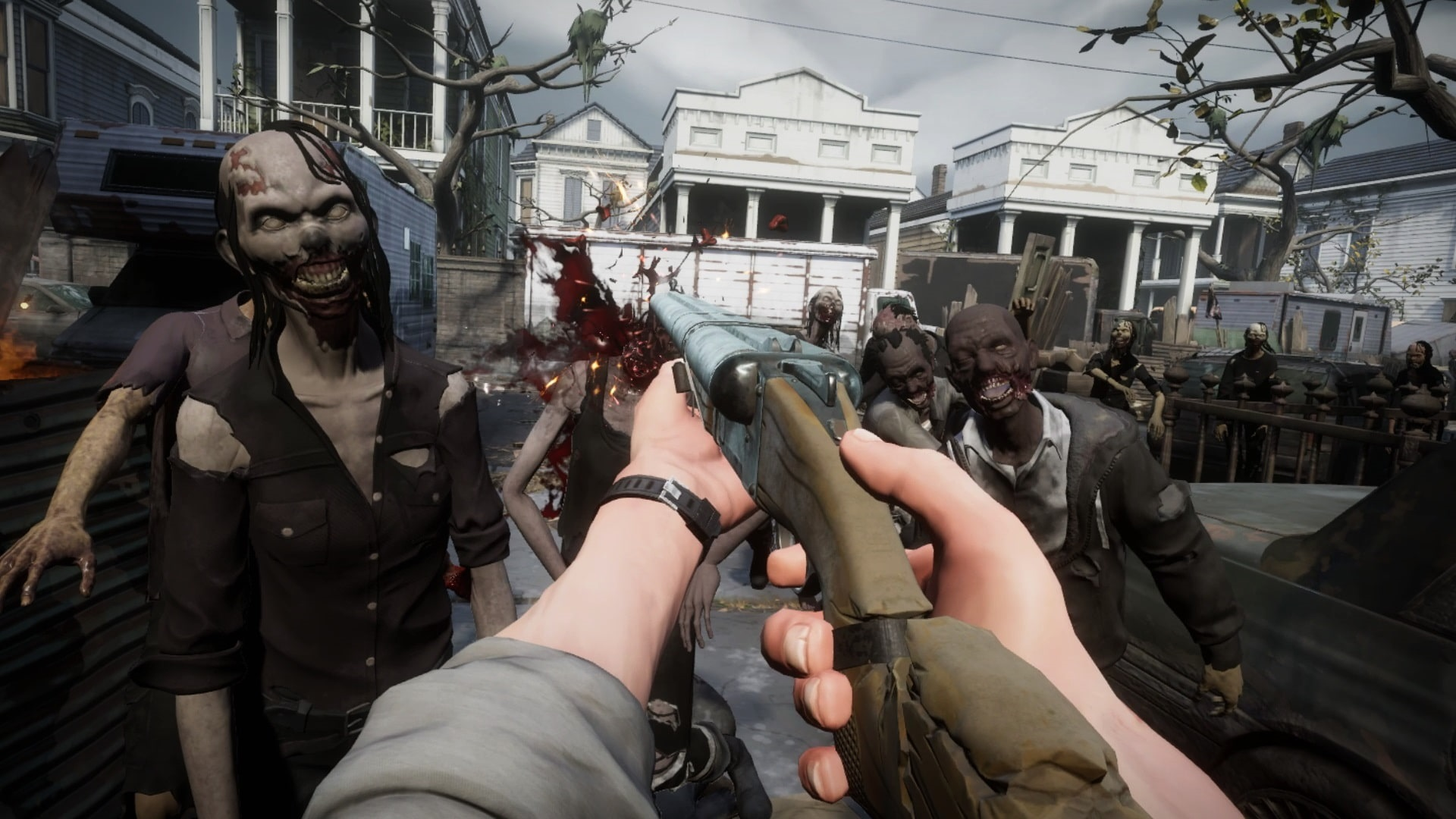 The Walking Dead: Saints & Sinners; gameplay: crafting