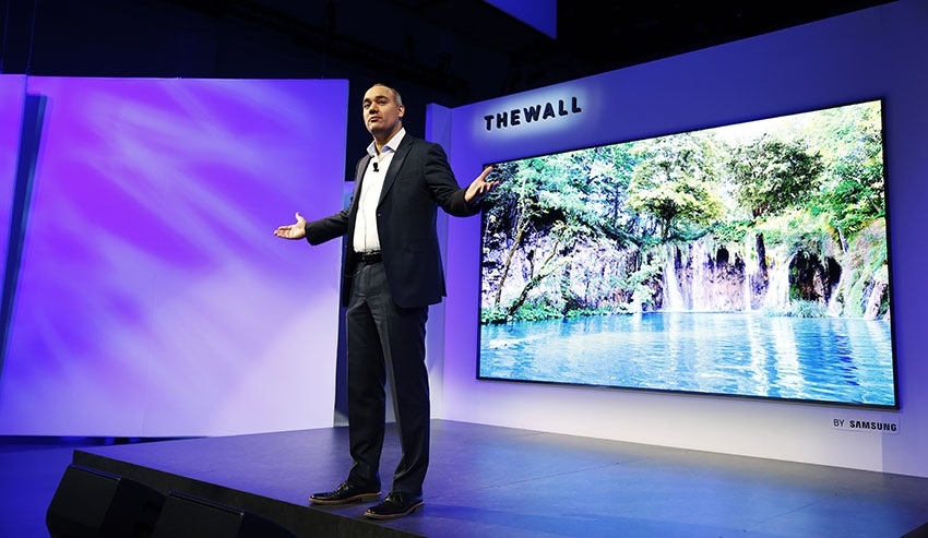 Dave Das, Samsung The Wall