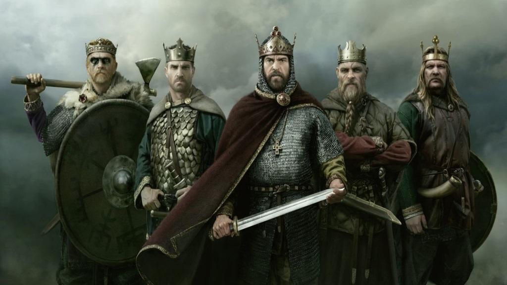 Nejlepší hry; Total War Saga: Thrones of Britannia; screenshot: králové