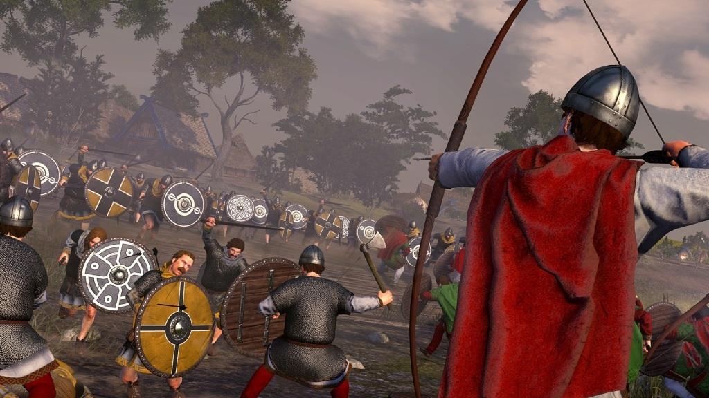 Nejlepší hry; Total War Saga: Thrones of Britannia; screenshot: lučišník