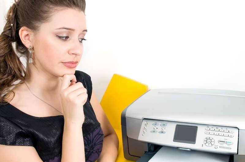 Tiskárna; údržba