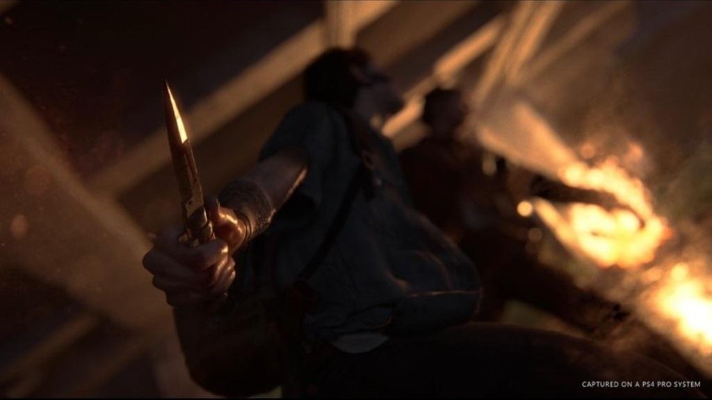 The Last of Us Part 2; screenshot: combat