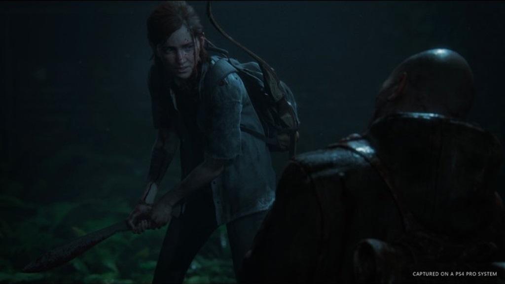 The Last of Us Part 2; screenshot Ellie