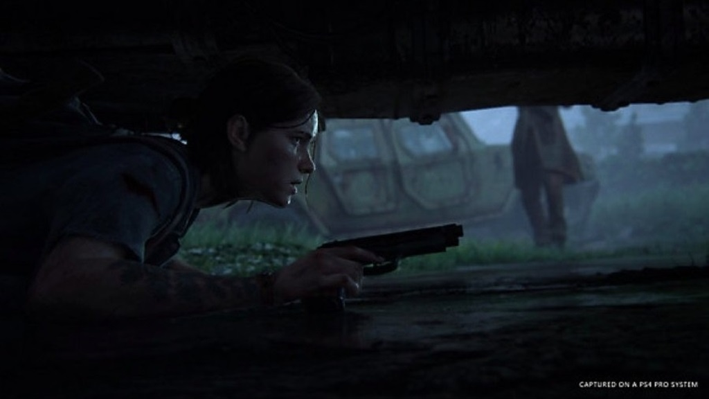The Last of Us Part 2; screenshot: plížení