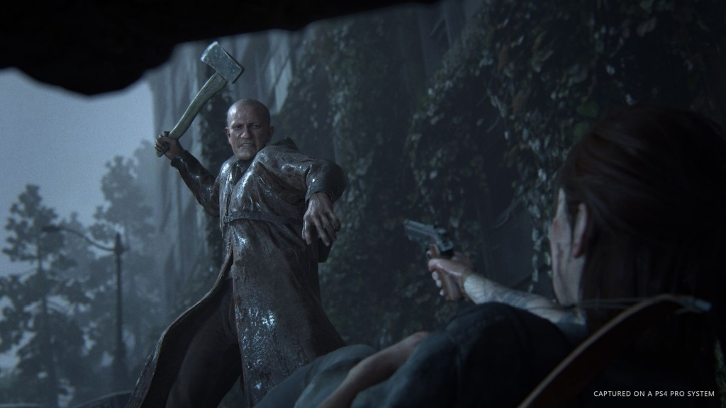 The Last of Us Part 2; screenshot: útočník
