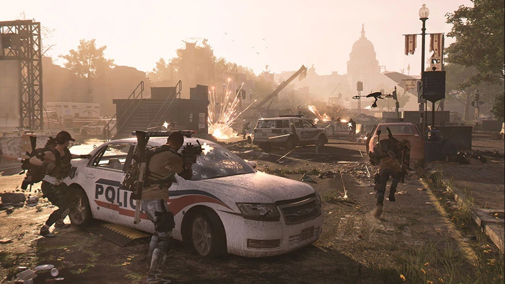 Tom Clancy's The Division 2; screenshot: akce