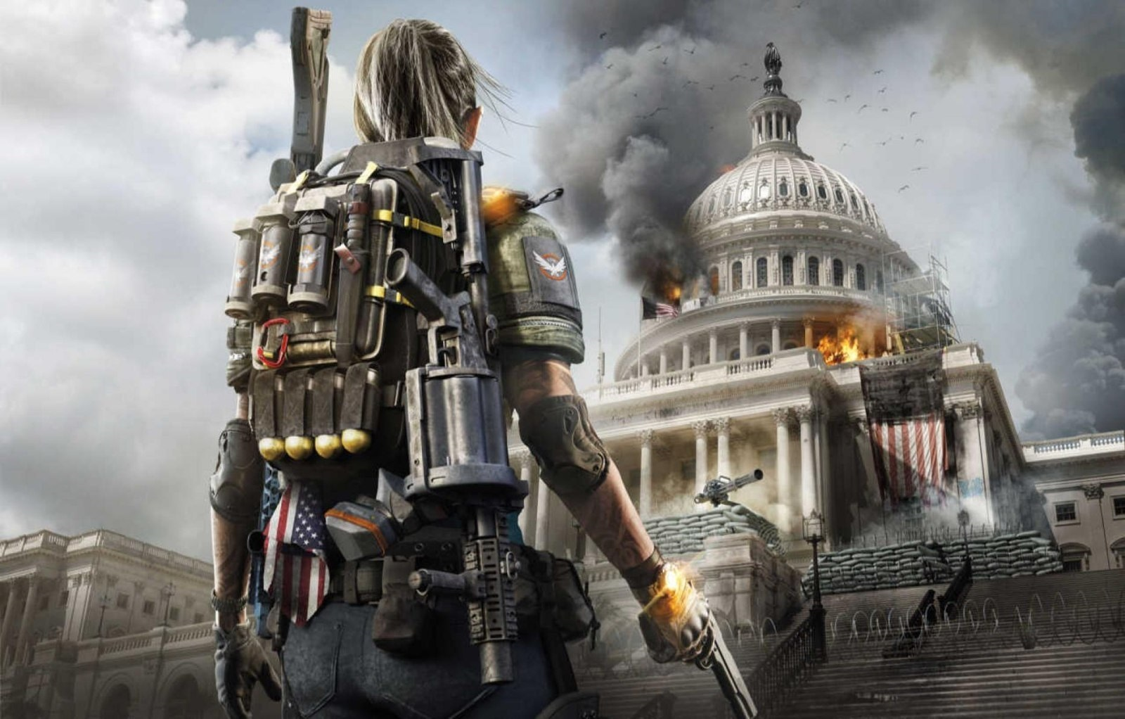 Tom Clancy´s The Division 2; wallpaper: Capitol