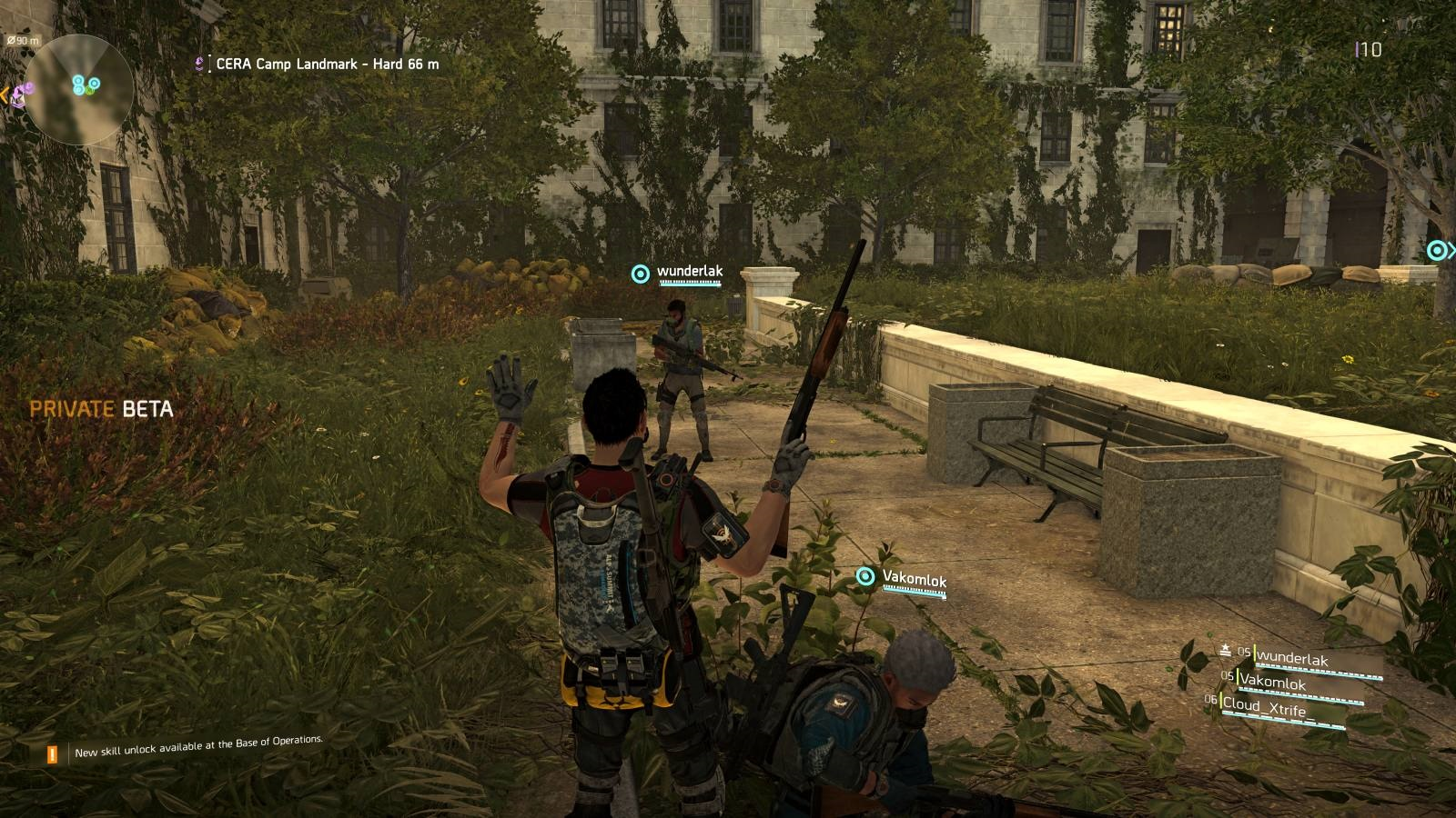 Tom Clancy's The Division 2; gameplay: emoce, interakce