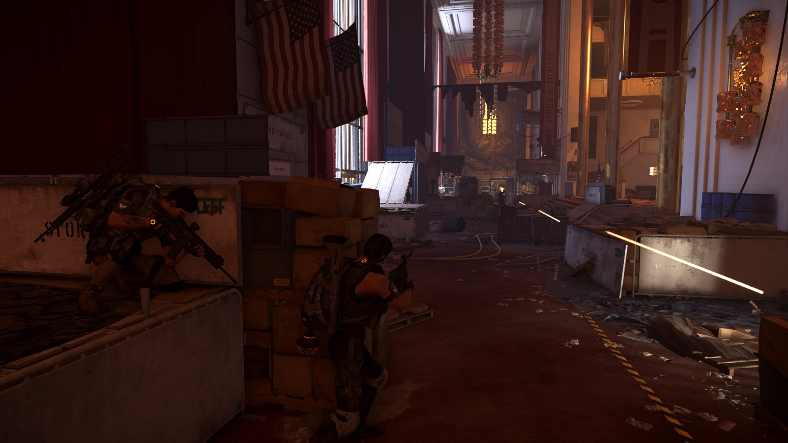 Tom Clancy´s The Division 2; gameplay: kooperace