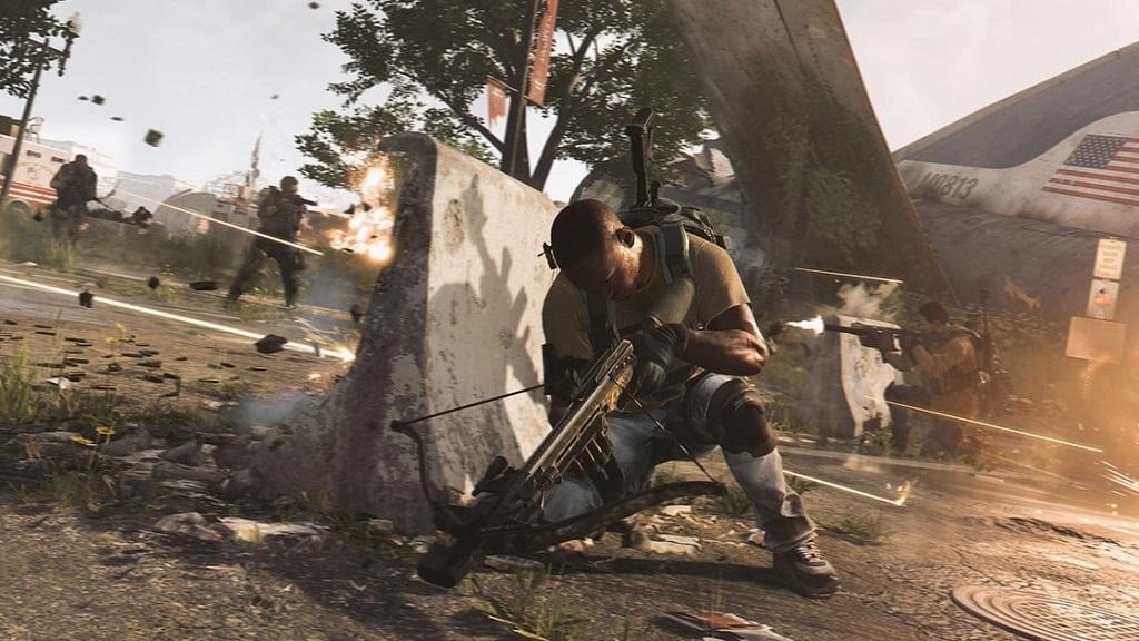 Nejočekávanější hry v roce 2019; Tom Clancy's The Division 2, screenshot: krytí
