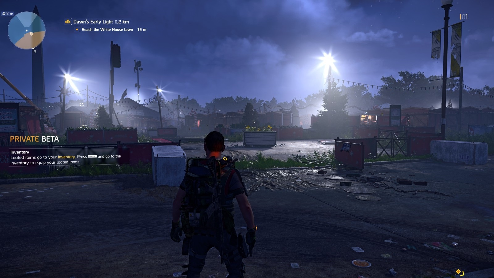 Tom Clancy's The Division 2; gameplay: noc