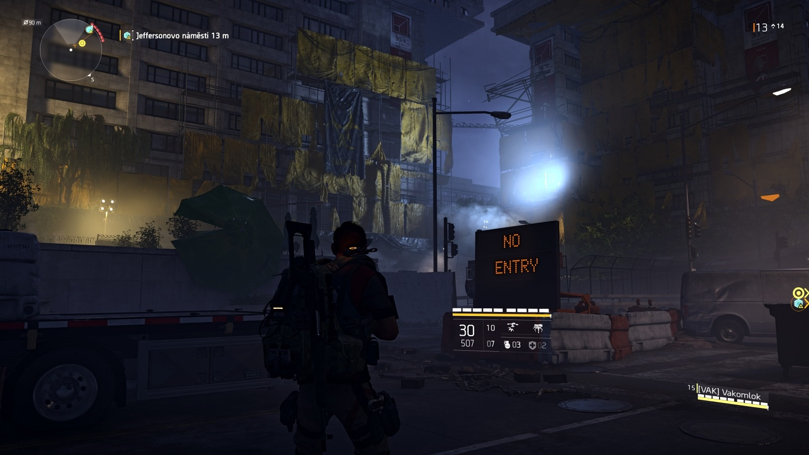 Tom Clancy´s The Division 2; gameplay: noc