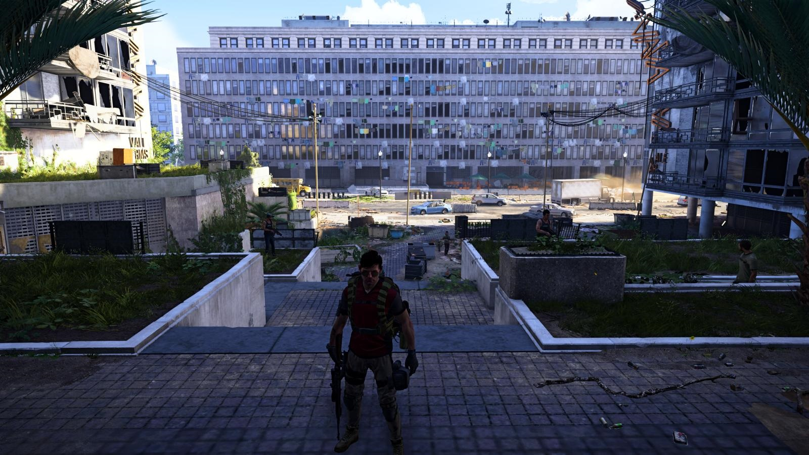 Tom Clancy´s The Division 2; gameplay: panelák