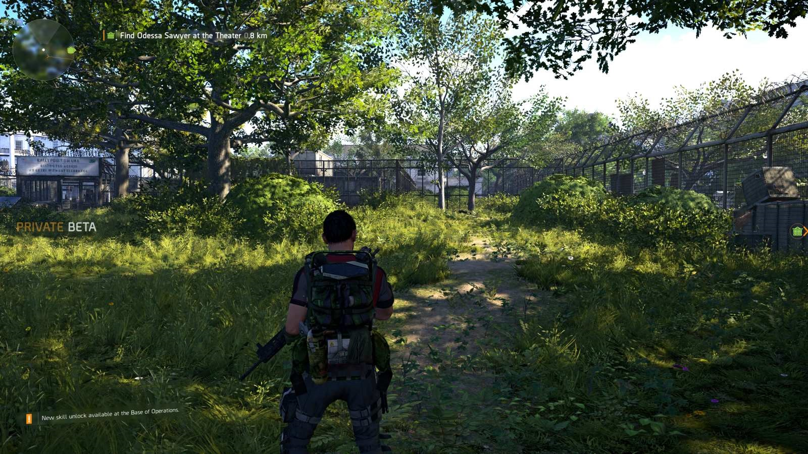 Tom Clancy's The Division 2; gameplay: příroda
