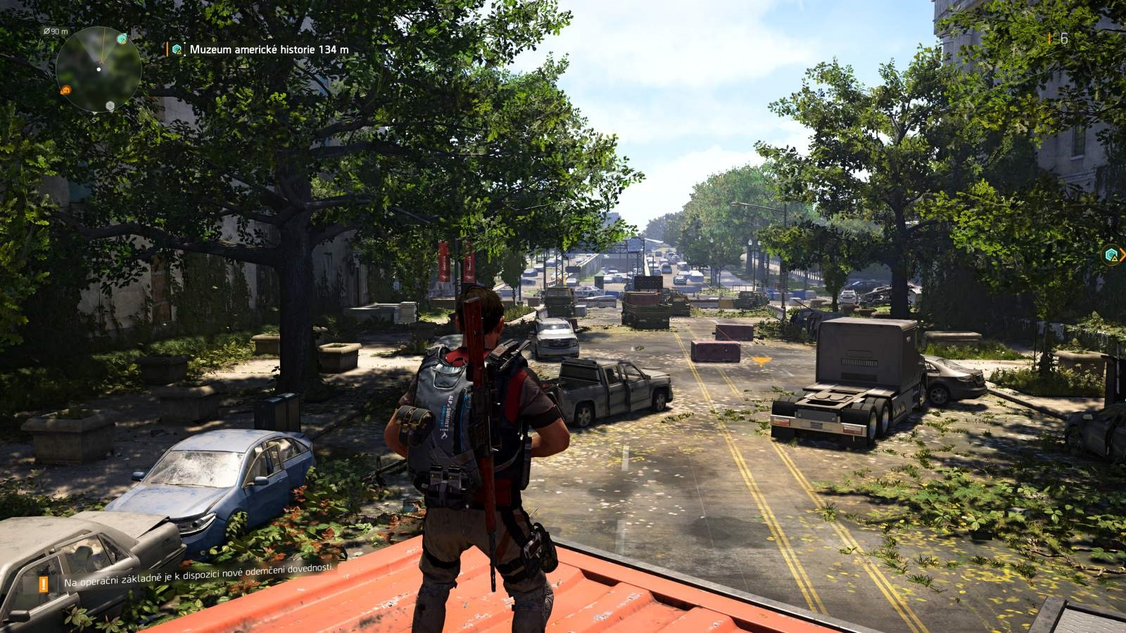 Tom Clancy´s The Division 2; gameplay: ulice