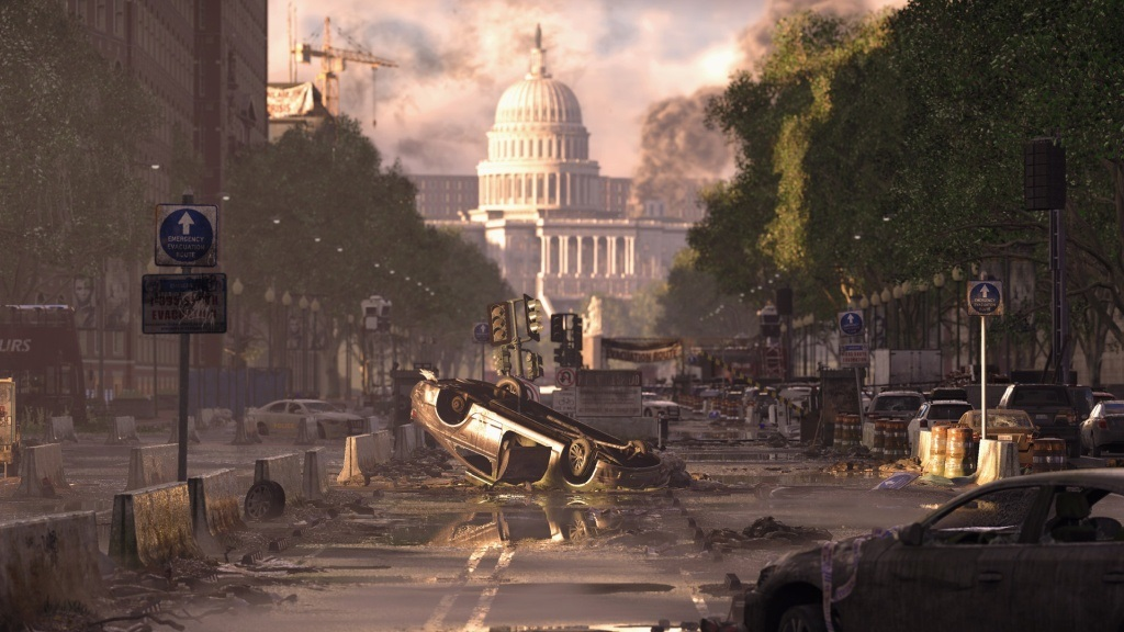 Tom Clancy's The Division 2; screenshot: Washington