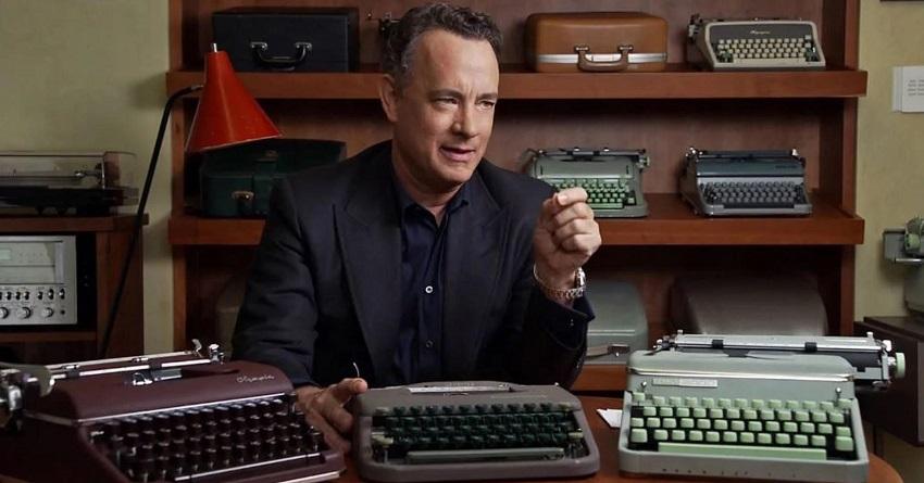 Neobvyklý typ; Tom Hanks; psací stroje