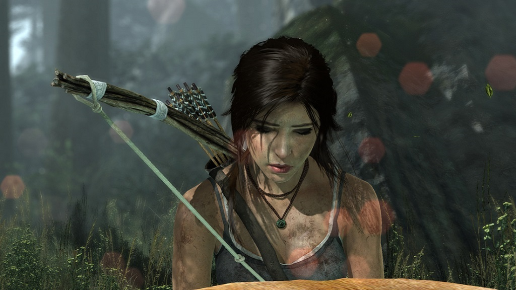 Tomb Raider 2013; Lara Croft, Bow