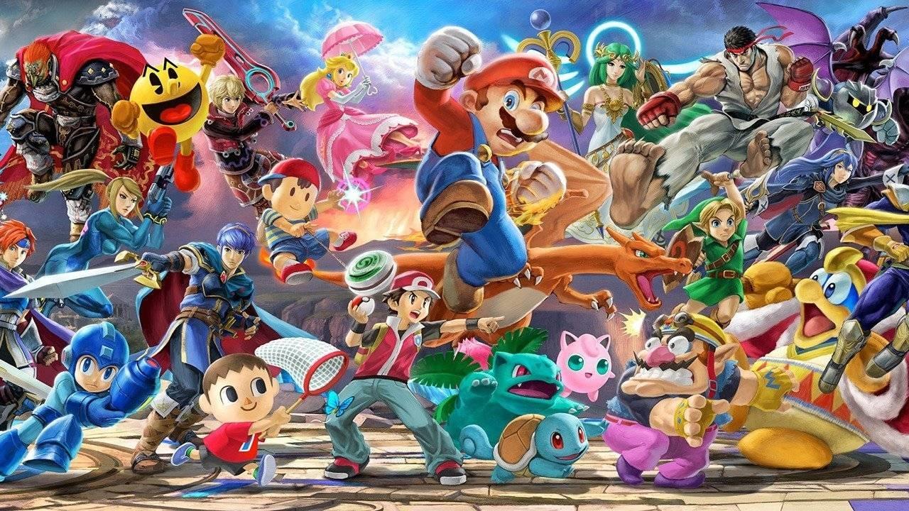 Super Smash Bros. Ultimate; screenshot: hrdinové