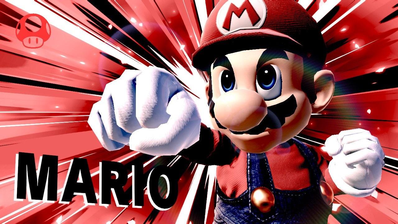 Super Smash Bros. Ultimate; screenshot: Mario