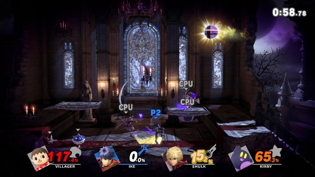 Super Smash Bros. Ultimate; screenshot: aréna