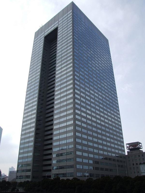 Toshiba - sídlo v tokijské části Minato