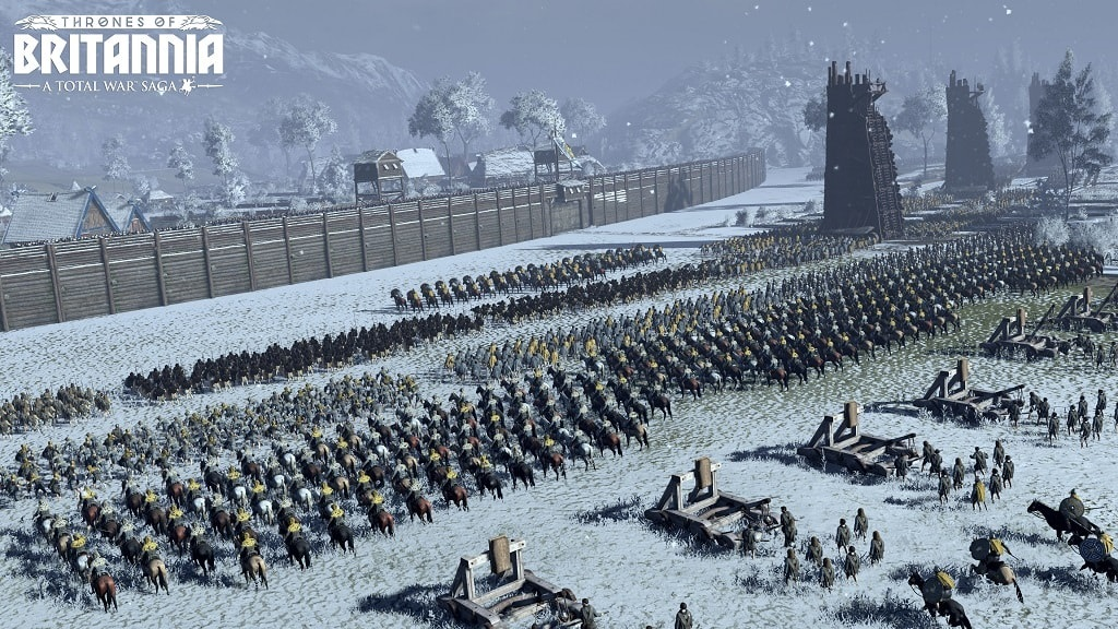 Nejočekávanější hry květen 2018; Total War Saga: Thrones of Britannia, gameplay, obléhání