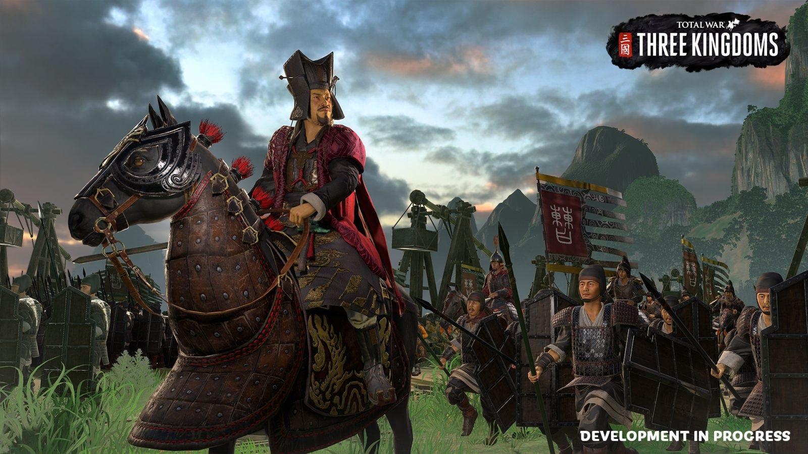 Nejočekávanější hry v roce 2019; Total War: Three Kingdoms, screenshot: Cao Cao