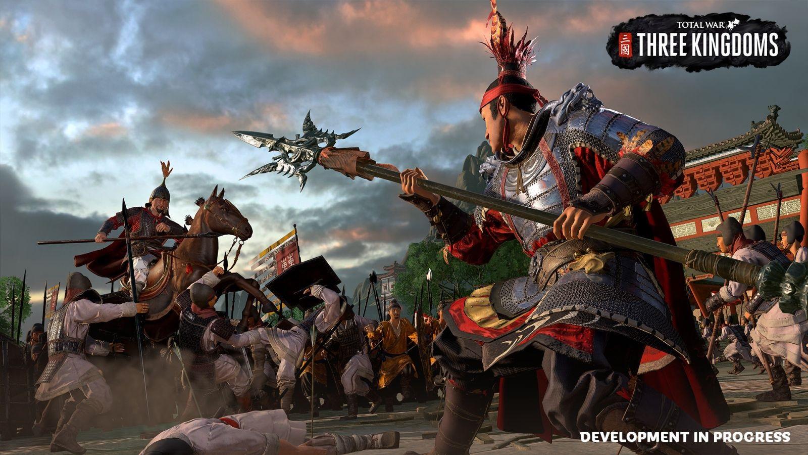 Nejočekávanější hry v roce 2019; Total War: Three Kingdoms, screenshot: duel