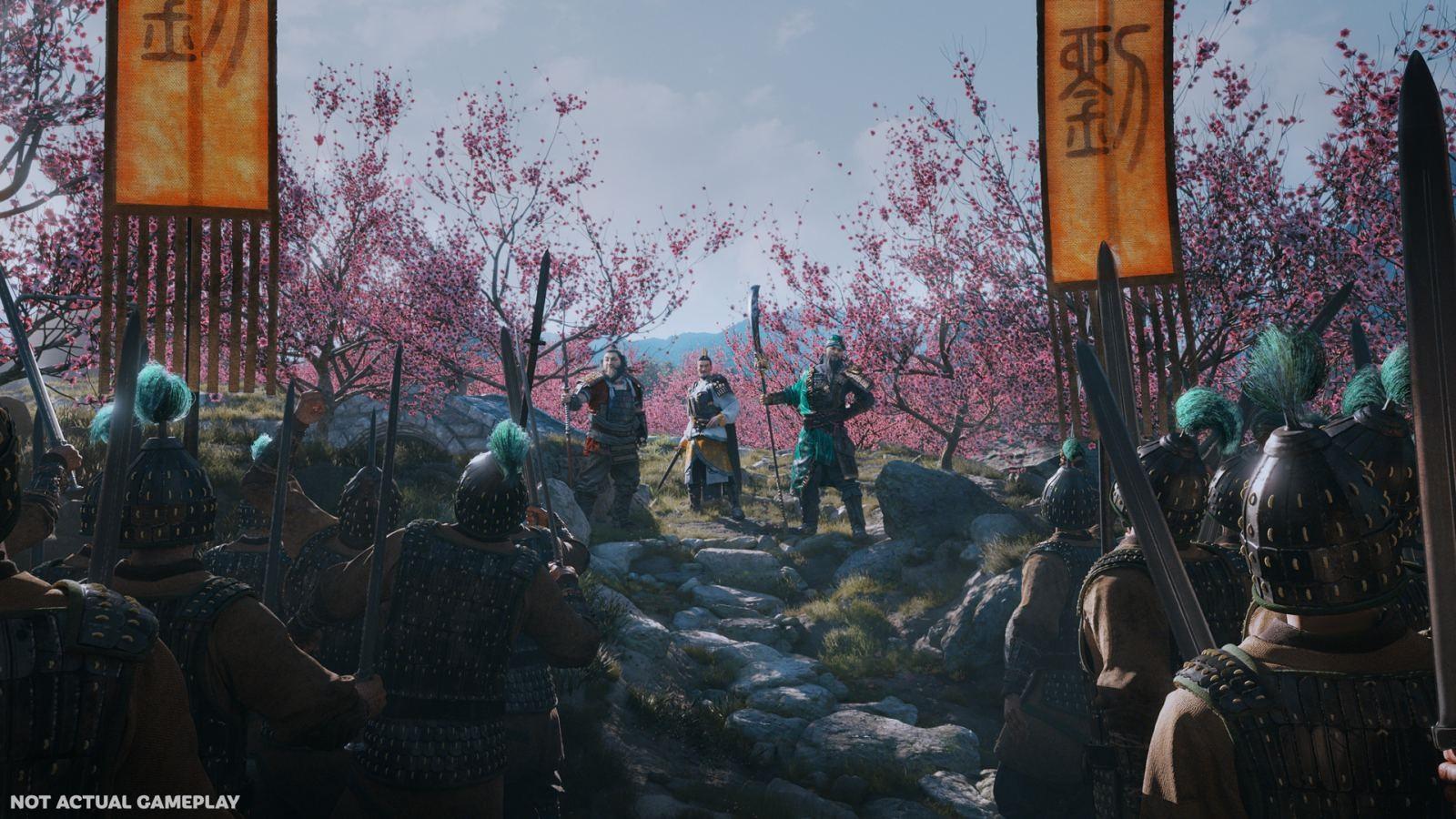 Nejočekávanější hry v roce 2019; Total War: Three Kingdoms, screenshot: shromáždění