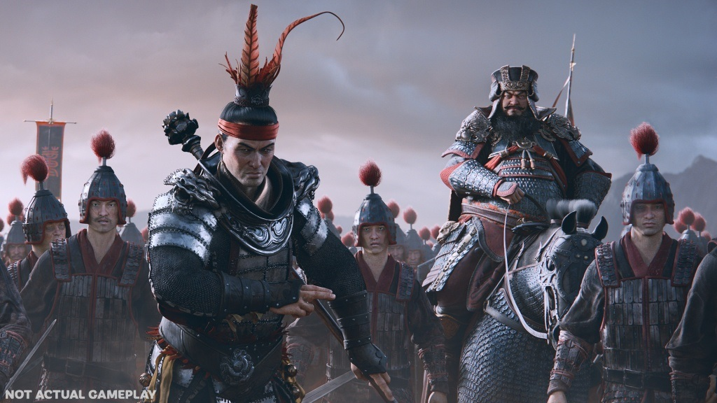 Total War: Three Kingdoms: Wallpaper: vojevůdce, armáda