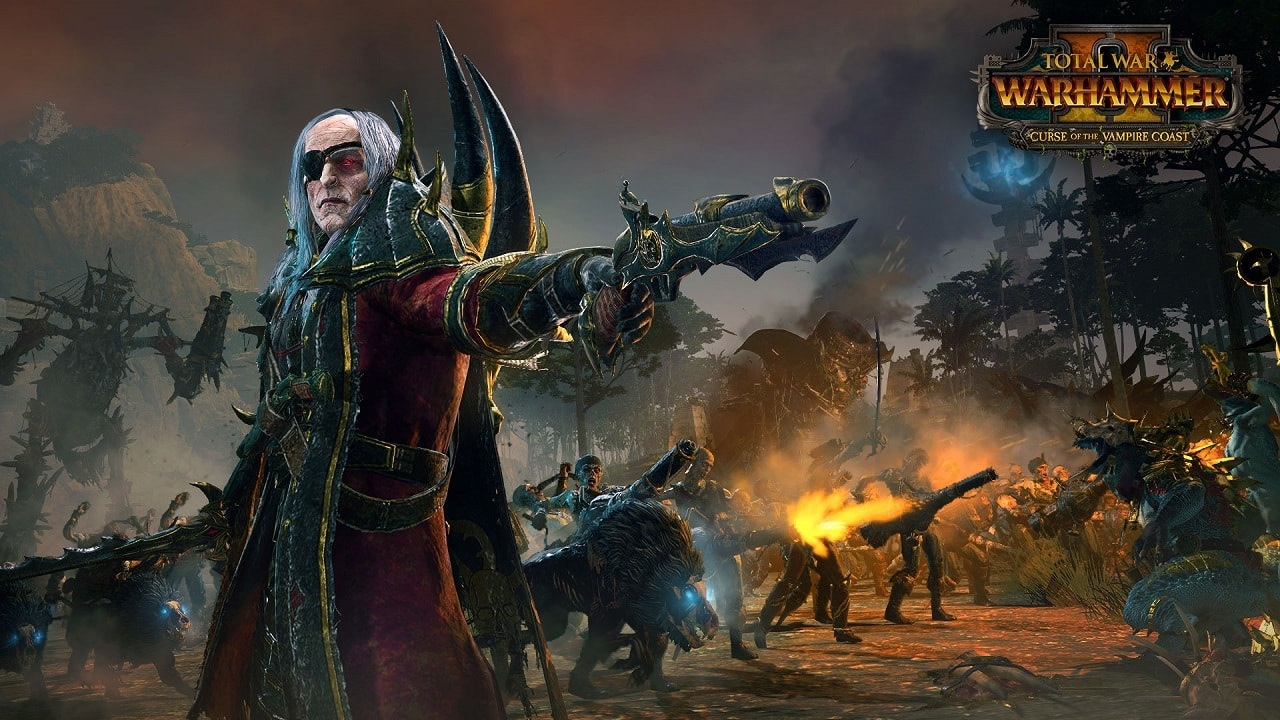 Total War: Warhammer II – Curse of the Vampire Coast; Luthor
