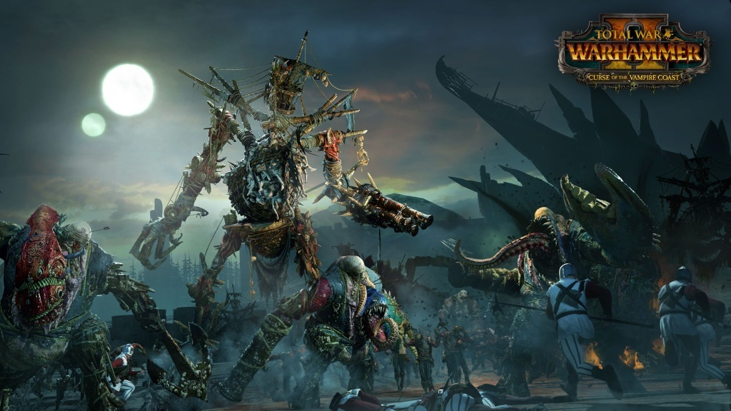 Total War: Warhammer II – Curse of the Vampire Coast; screenshot: masakr