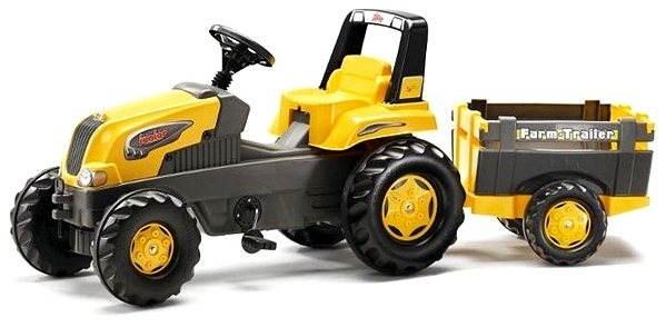 Traktor s vozíkem potěší každého kluka