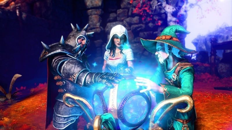 Trine 4: The Nightmare Prince; screenshot: postavy